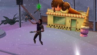 Knife juggling in the snow is my favourite!