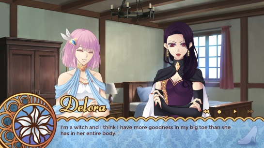 Lucette gets some direct feedback.