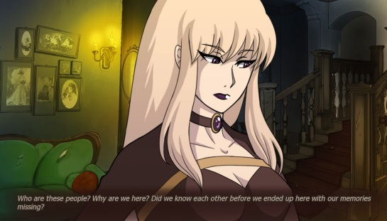 The protagonist Mariko.